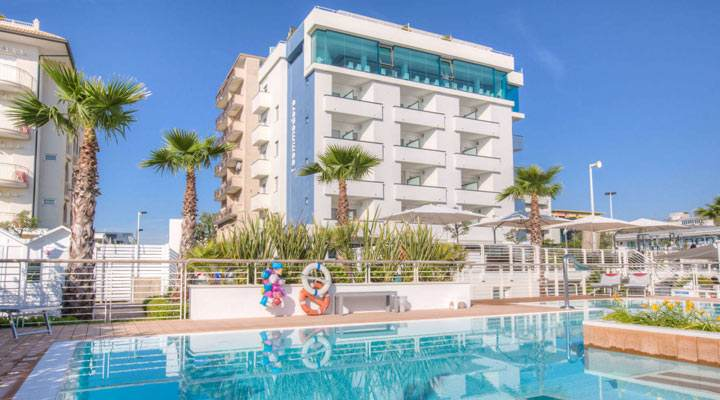 Hotel Due Stelle Riccione All Inclusive